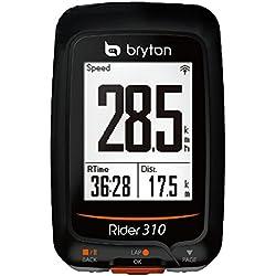 Bryton Rider 310 C - Ciclocomputadores inalámbricos - negro 2016