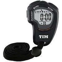 Acctim TIM902B Olympus Stopwatch, Plastic, 3x7.2x9.8 cm,Black