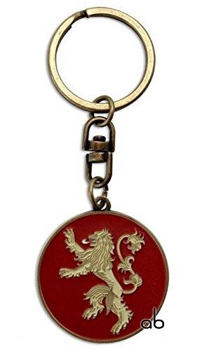 Preisvergleich Produktbild Game of Thrones - TV Serien Metall Schlüsselanhänger - Lannister