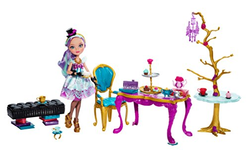 Tee Party Barbie (Ever After High Mattel BJH36 - Tee-tastisches Party Set, inklusive Puppe)