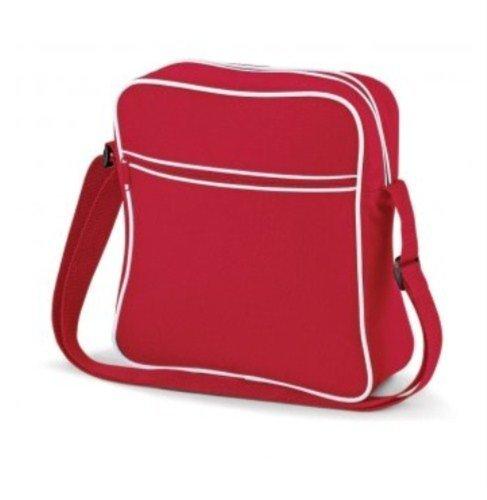 Bagbase–Borsa da viaggio, French Navy White (blu) - PC2014-BG16-French Navy White-ONE Classic Red White