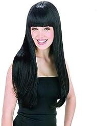 WADEO Perruque Femme Naturelle Brésilien 360 Perruque Bresilienne 360 Lisse Cheveux Naturel Brésilienne Perruque Longue 60cm