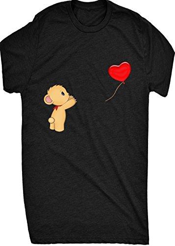 Renowned BEAR reaching for balloon Womens T Shirt