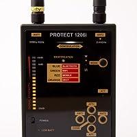 Detektor für kabellose analoge und digitale Transmissionen Protect 1206i / Detektion - FM, GSM, DECT, Bluetooth und WLAN    Wanzenfinder / Detektor / Aufspürgerät