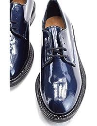 on sale eb85d 28952 Amazon.it: scarpe donna blu vernice - Scarpe: Scarpe e borse