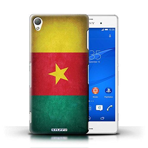 Kobalt® Imprimé Etui / Coque pour Sony Xperia Z3 / Finlande/finlandais conception / Série Drapeau Cameroun