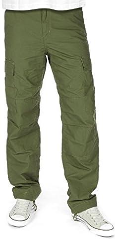 Carhartt Herren Cargohose Columbia Regular Fit grün grün W 31