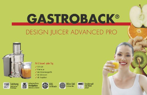 Gastroback 40133 Design Juicer Advanced Pro Test - 8