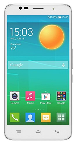 BEC LT516 Dual SIM 5 inch FWVGA IPS Display Android 5.1 Lollipop with 1 GB RAM and 8 GB Internal Memory Dual Camera with Selfie and Back Flash Light 4G smartphone (White and Gold)