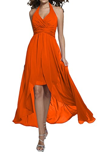Missdressy - Robe - Trapèze - Femme Orange - Orange