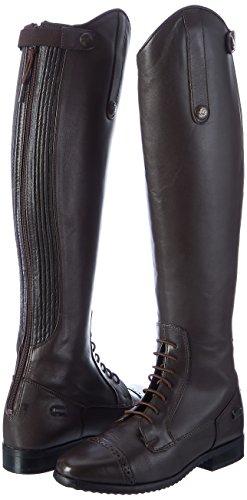 HKM stivali da equitazione Valencia Uomo Lunghi lunghezza/larghezza stretta marrone