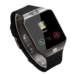 Ballylelly Smart Watch Dz09 Gold Silver Smartwatch Relojes para iOS para Android Sim Card Camera Camera Watch 14