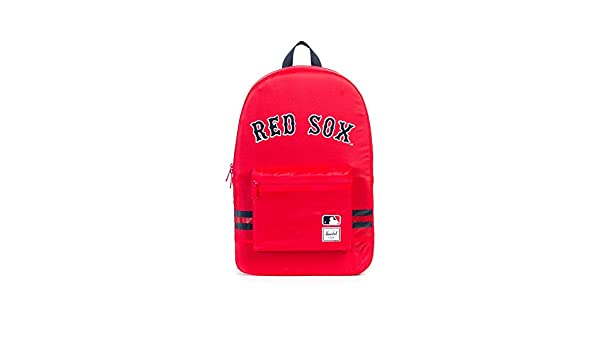 58412fbaf1fa Herschel Supply Co. MLB Packable Day Pack Backpack Boston Red Sox  Amazon.co.uk   Clothing