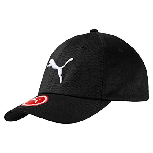Puma Unisex Ess Cap, Black (Black-big cat), One Size