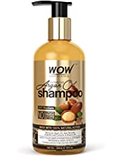 WOW Skin Science Moroccan Argan Oil Shampoo with DHT Blocke
