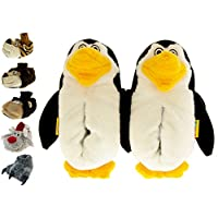 Boys Girls Novelty Animal Slippers