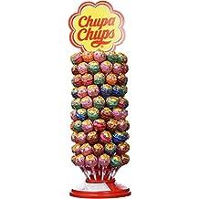 Chupa Chups Caramelo con Palo de Sabores Variados - Rueda de 120 unidades de 12 gr
