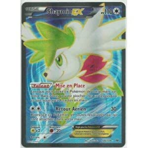 Carte Pokémon 106/108 SHAYMIN EX FULL ART 110 PV HOLO - Série XY Ciel Rugissant NEUVE FR