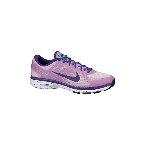 Nike Dual Fusion Training 2 631459, Damen Laufschuhe Mehrfarbig (Lt Mgnt/Crt Prpl-Hypr Trq-Hypr)