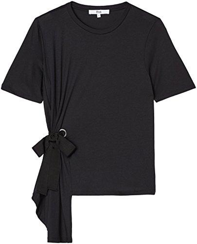FIND Damen T-Shirt Schwarz (Black)