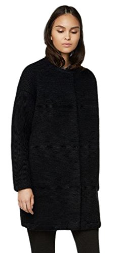 Bench Cappotto aptness maglia donna, Donna, Aptness Strickmantel, Black, M