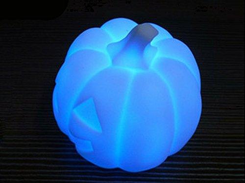 Homedecoam LED-Leuchte, mit Farbwechsel, Halloween-Kürbis, Nachtlicht für Schlafzimmer, Party, Hochzeit, Weihnachten