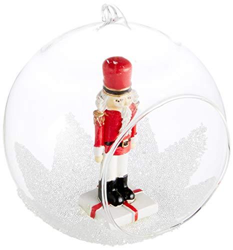 Villeroy & Boch Christmas Toys 2018 Weihnachtskugel Nussknacker, aus Dem Robustem Kunstharz Polyresin, 10 x 9 x 11 cm