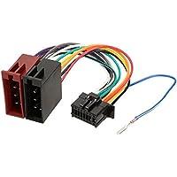 Cable adaptador ISO para radio de coche Pioneer 23x10mm 16 pines TechExpert