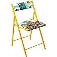 BEAT COLLECTION Click - Silla Plegable para salón, 46 x 43 x 45 cm, Multicolor