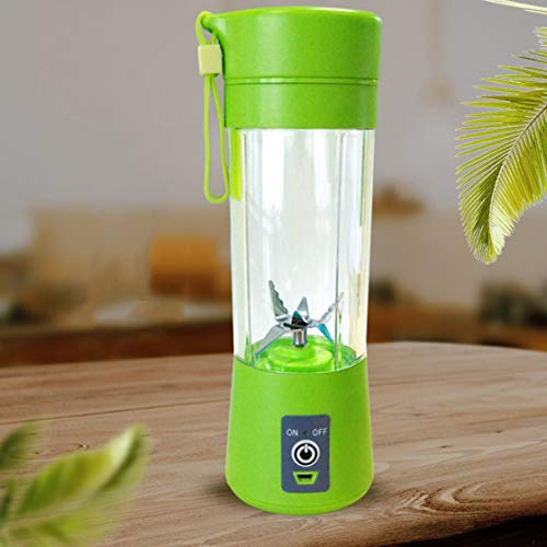 Mini Portable USB Electric Fruit Juicer Cup Rechargeable 400ml Smoothie Maker Blender Fruit Squeezers Reamers Bottle