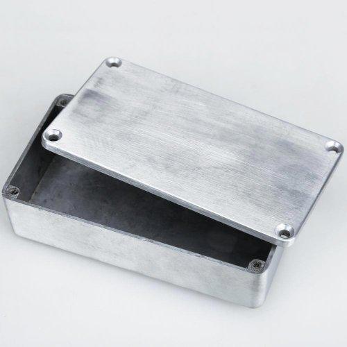 Broadroot 1590B Stil Effektpedal Aluminium Stomp Box Gehäuse für Gitarre