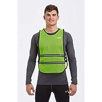 Time To Run High Visibility Lightweight Reflective Running/Cycling/Walking Bib Vest