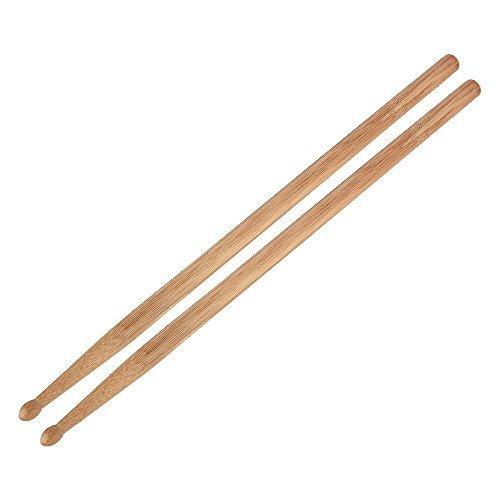 IRICH Leichten Bambus 5A Drumsticks, Classic Hochwertige Trommelstöcke Zubehör für Anfänger, Studenten und Erwachsene (1 Paar, Länge: 40,6CM)