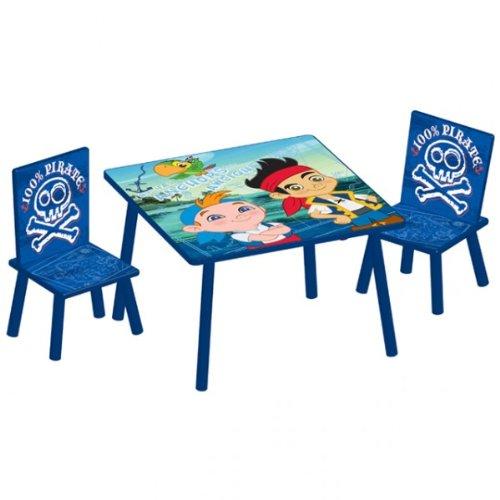 (Disney Jake and the Neverland Pirates Sitzgruppe 60x60 cm Kindersitzgruppe Kindersitzgarnitur)