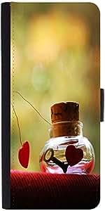Snoogg Love Potion Designer Protective Phone Flip Case Cover For Vivo V1