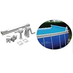 Enrollador de manta solar para piscina desmontable Telescópico max 6,50 metros