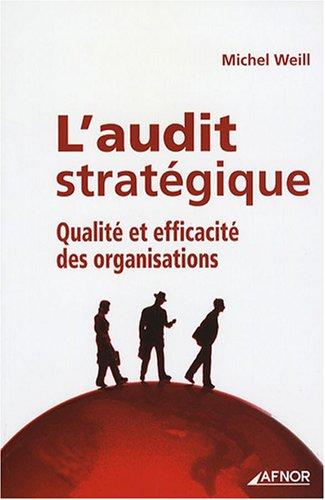 L'audit stratégique