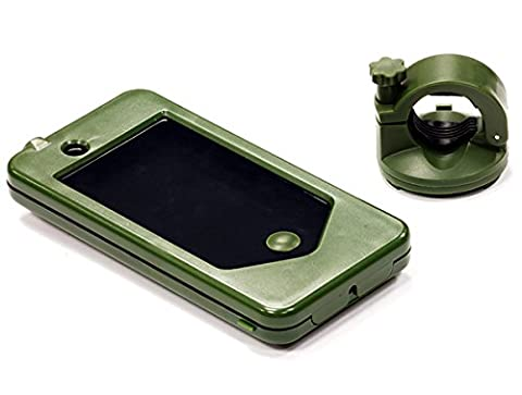 Integy RC Model Hop-ups C24605GREEN Bicycle Handle Bar 20-25mm Mounting System for iPhone 4/4S