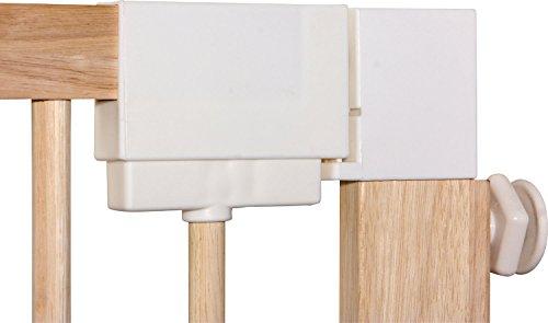 IB-Style – Treppengitter / Türgitter KOLBY M | 3 Größen | 86 – 92 cm | aus massivem Holz – Natur - 3