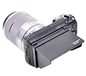 Kaavie - LCH-NEX3/5N Capot de viseur d'affichage pour Sony NEX3, NEX-5, NEX5N
