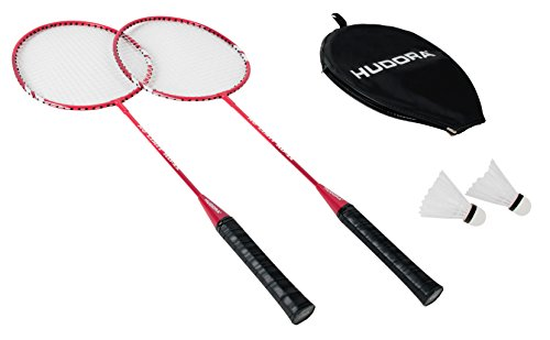 HUDORA Badmintonset No Limit HD-22, 76415 (2 Schläger, 2 Federbälle)