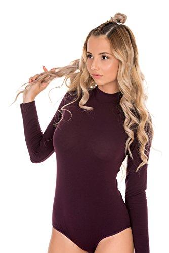 Evoni - Body - Femme Noir Noir S - Violet - XL 2080f911f6b