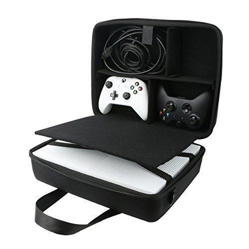für Microsoft Xbox One S Konsole Hart Reise Lagerung Tragen Taschen Hülle von co2CREA (Xbox Tragetasche)