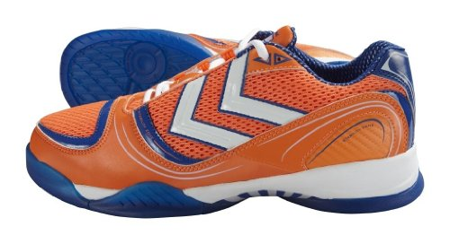 Hummel SPIRIT KARMA 60-049-0030, Chaussures de sports en salle mixte adulte Orange (Orange-TR-H5-1)