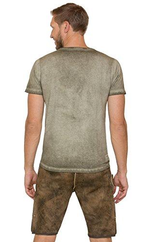 Stockerpoint Trachten T-Shirt Pascal Sand, L - 4