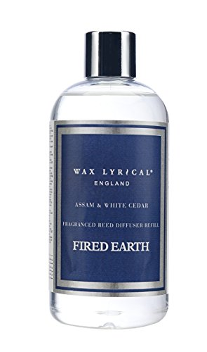 Fired Earth Assam & White Cedar 250 ml Reed Diffuser Refill Reed & Amp