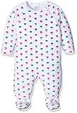 Sanetta Baby-Mädchen 221260 Schlafstrampler, Weiß (White 10), 74