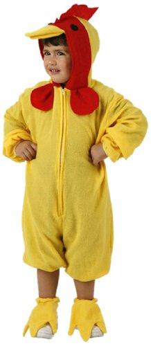 Atosa 95556 - Disfraz de gallina para niña (5/6 años)