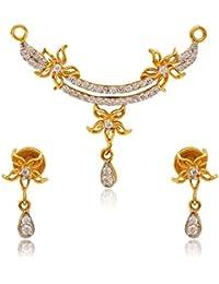 Kamadhenu Jewellery 22KT Yellow Gold Jewellery Set For Women