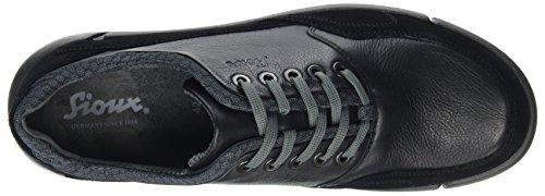 Sioux Herren Rufeto Sneaker Grau (Schwarz 2X/Darkgrey)